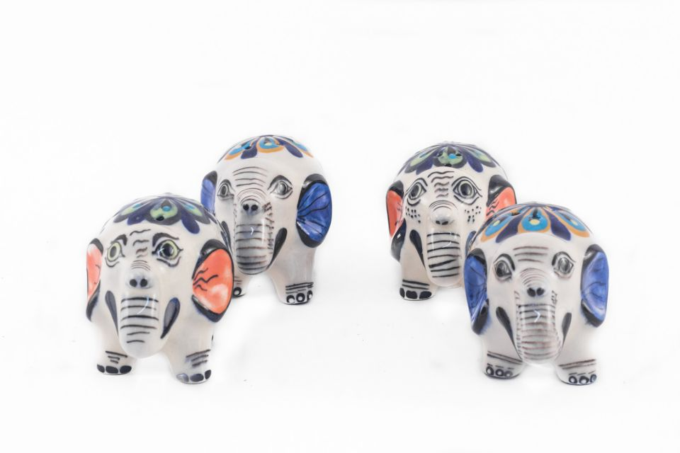Elephant Salt and pepper shaker hand made in San Antonio Guatemala